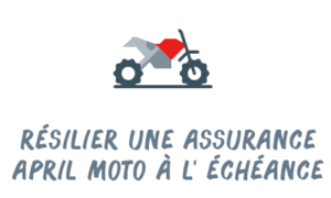 résiliation assurance moto april