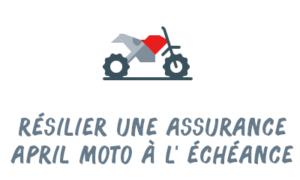 résiliation assurance moto april