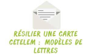 résilier carte cetelem lettre