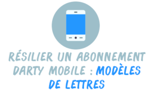 résilier darty mobile lettre