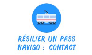 résilier pass navigo contact
