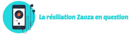 resiliation zaoza