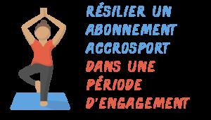 résilier accrosport engagement
