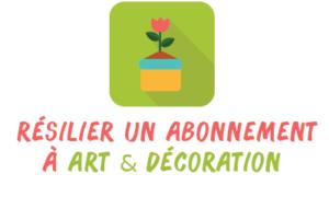 résilier art décoration