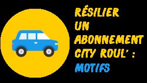 résilier City Roul' motifs