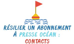 résilier presse océan contact