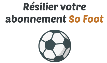 resilier abonnement so foot