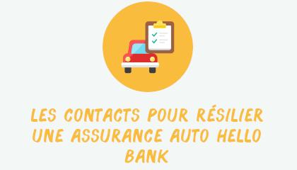 contact résilier assurance auto hellobank