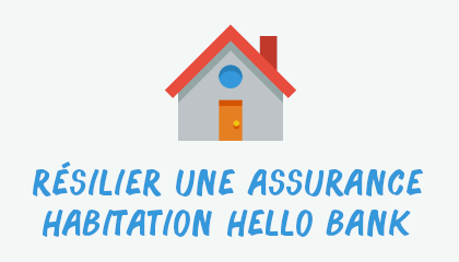 résilier assurance habitation hellobank