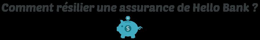 resilier assurance hello bank
