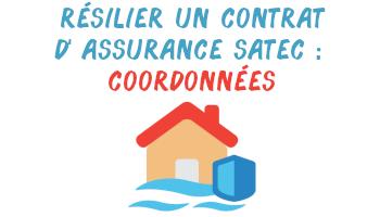 résilier assurance satec coordonnées