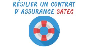 résilier assurance satec