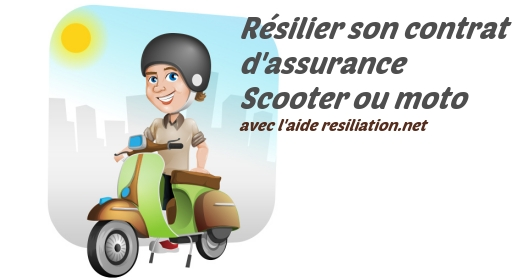 resilier assurance scooter et moto