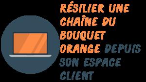 résilier orange bouquet espace client