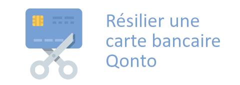 résilier carte Qonto