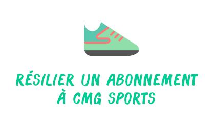résilier cmg sports