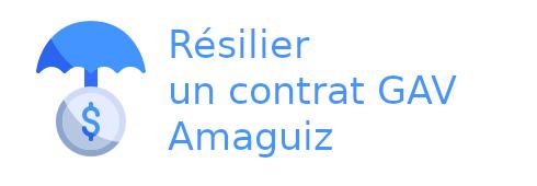 résilier contrat gav amaguiz