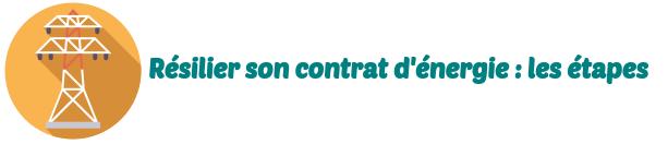 resilier contrat