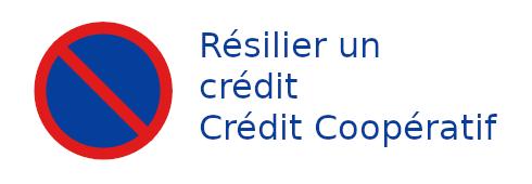 résilier crédit crédit coopératif