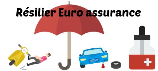 resilier euro assurance