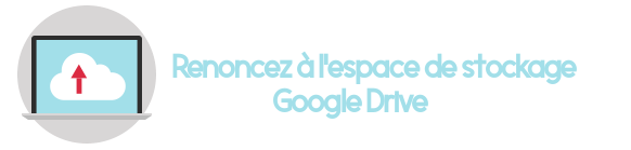resilier google drive