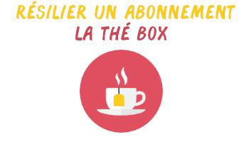 résilier la thé box