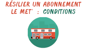 résilier LE MET' conditions