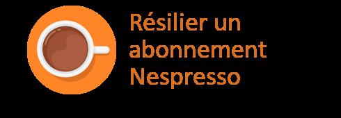 résilier nespresso