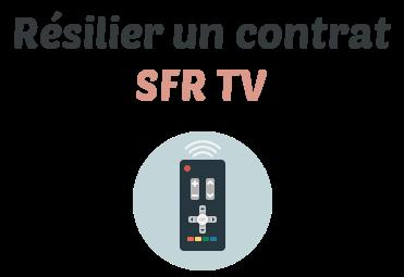 resilier sfr tv