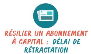 rétractation capital