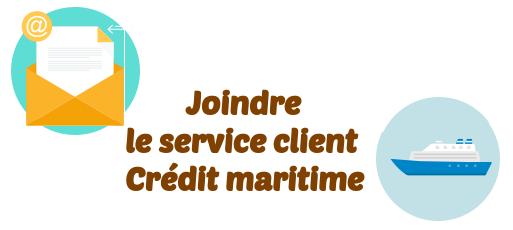 service client credit maritime