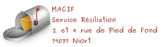 service resiliation macif