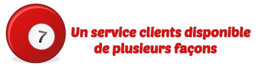 service clients fdj