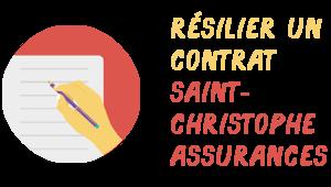 résiliation st-christophe assurance