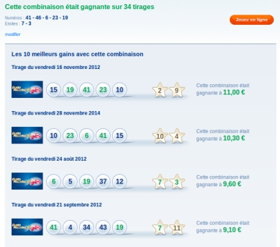 statistique euromillions