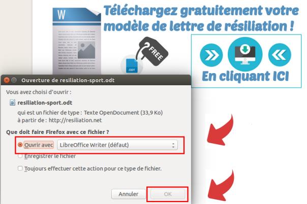 telechargement lettre type