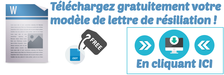 telecharger modele lettre resiliation