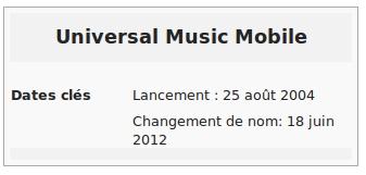 universal music mobile
